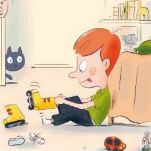 Muestra de las ilustraciones de ¡Si ya soy mayor!
